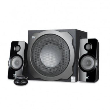 ALTAVOCES 2.1 BIG BASS 260S 150W SUBWOOFER BT ENTRADA AUDIO VOLUMEN WOXTER